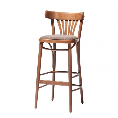 Krzesło barowe 56 tapicerowane wysokie lub niskie