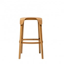 Krzesło barowe LEAF wysokie lub niskie