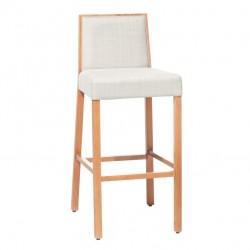 Krzesło barowe PARIS wysokie lub niskie