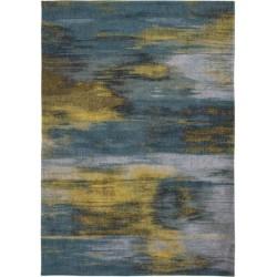 Wielokolorowy dywan nowoczesny - NYMPHEA BLUE