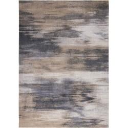 Szaro Beżowy dywan nowoczesny - GIVERNY BEIGE