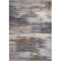 Szaro Beżowy dywan nowoczesny - GREY IMPRESSION