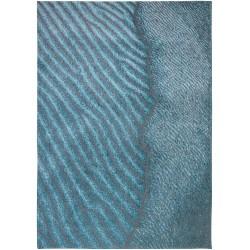 Nowoczesny Niebieski Dywan - BLUE NILE