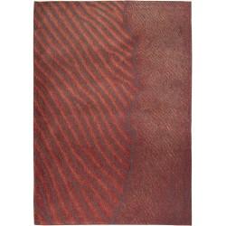 Nowoczesny Czerwony Dywan - ORINICO FLOW